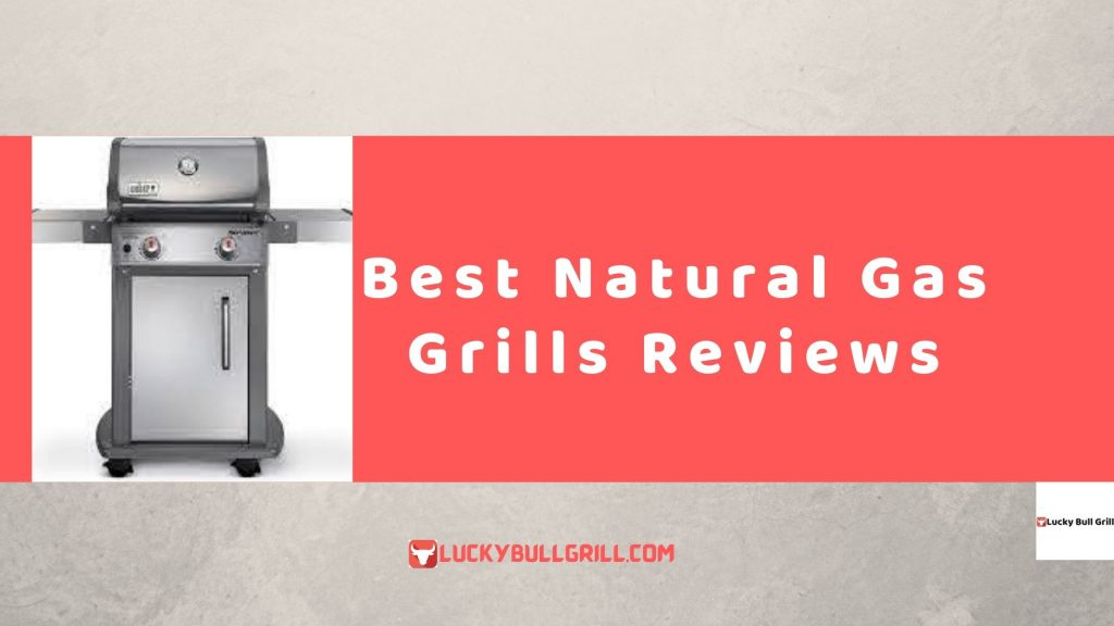 Best Natural Gas Grills Reviews - Lucky Bull Grill